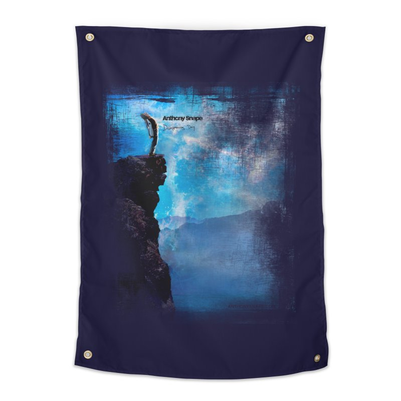 Disappearing Day - Song Inspired Art Home Tapestry by Music Artist Anthony Snape
