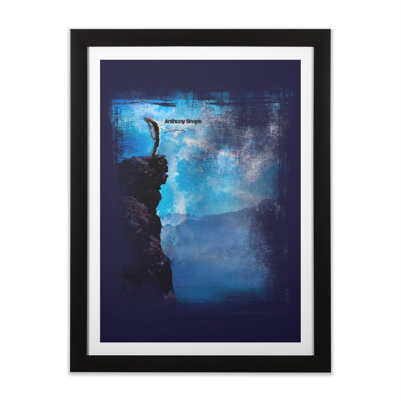 Disappearing Day - Song Inspired Art Home Framed Fine Art Print by Home Store - Music Artist Anthony Snape