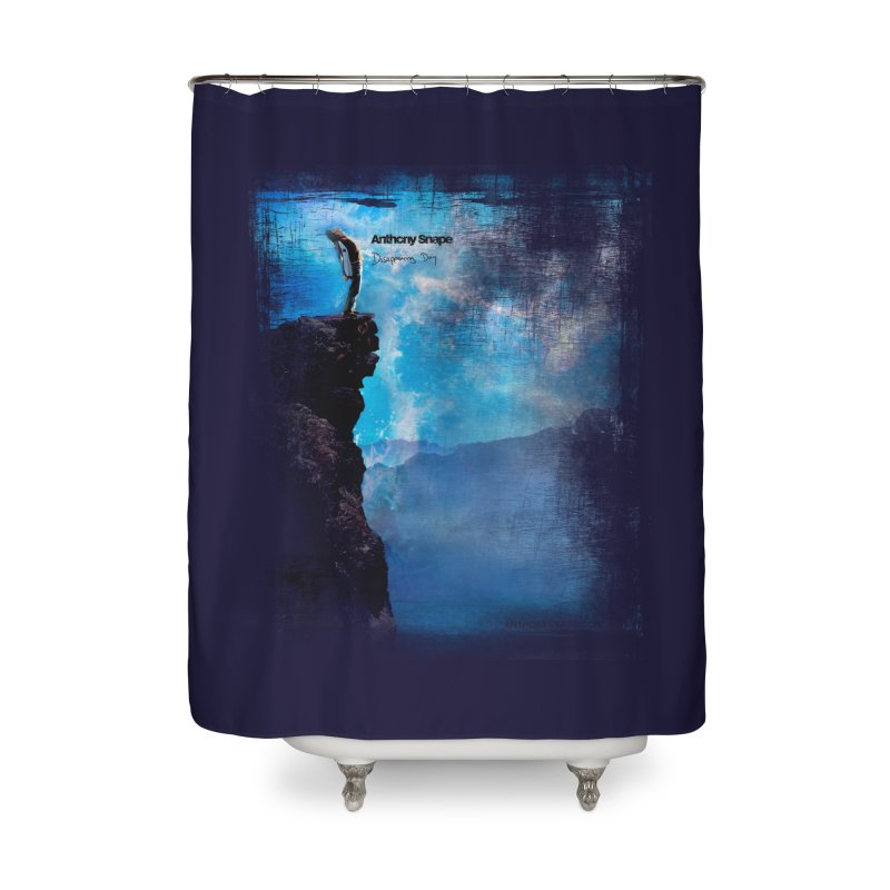 Disappearing Day - Song Inspired Art Home Shower Curtain by Home Store - Music Artist Anthony Snape