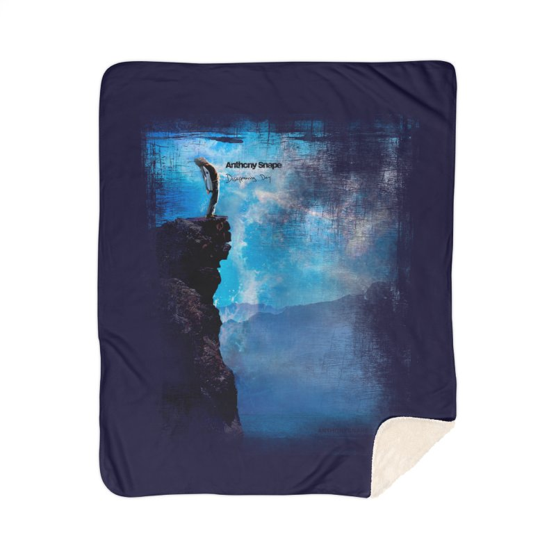 Disappearing Day - Song Inspired Art Home Blanket by Home Store - Music Artist Anthony Snape