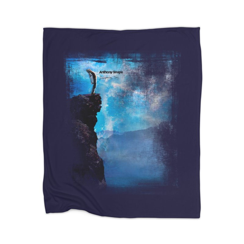 Disappearing Day - Song Inspired Art Home Blanket by Music Artist Anthony Snape