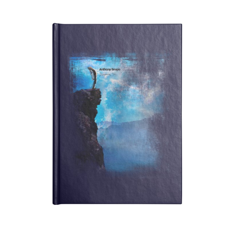 Disappearing Day - Song Inspired Art Accessories Blank Journal Notebook by Home Store - Music Artist Anthony Snape