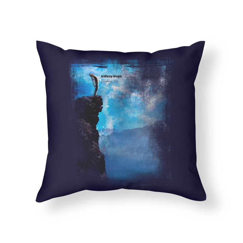 Disappearing Day - Song Inspired Art Home Throw Pillow by Home Store - Music Artist Anthony Snape