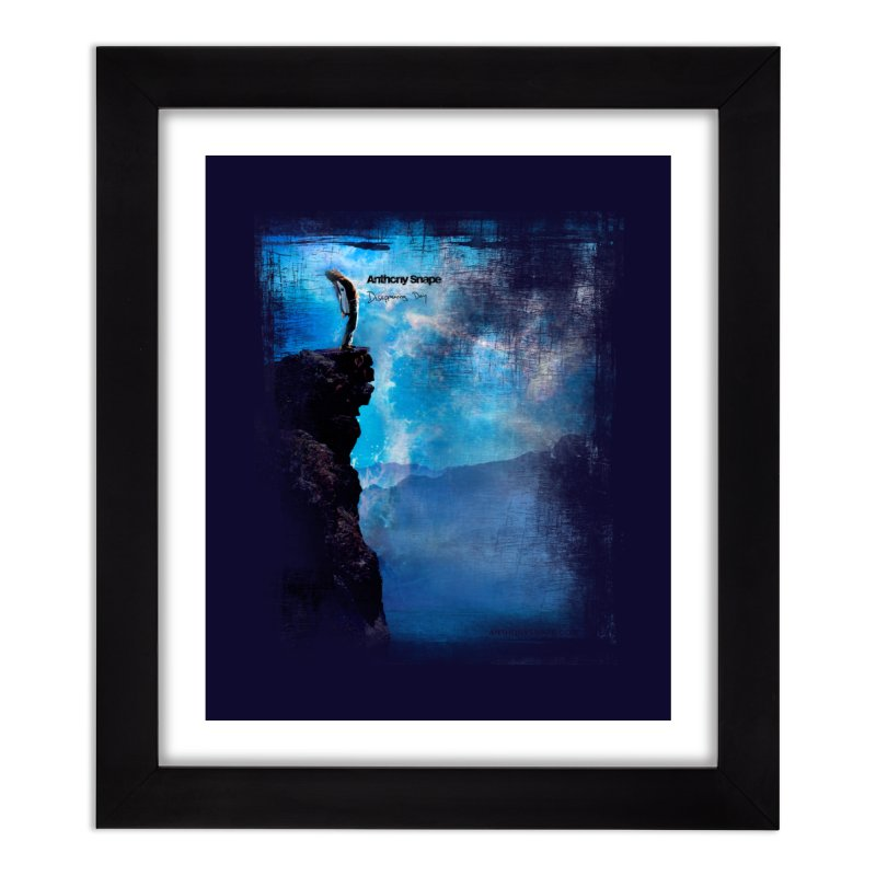 Disappearing Day - Song Inspired Art Home Framed Fine Art Print by Music Artist Anthony Snape