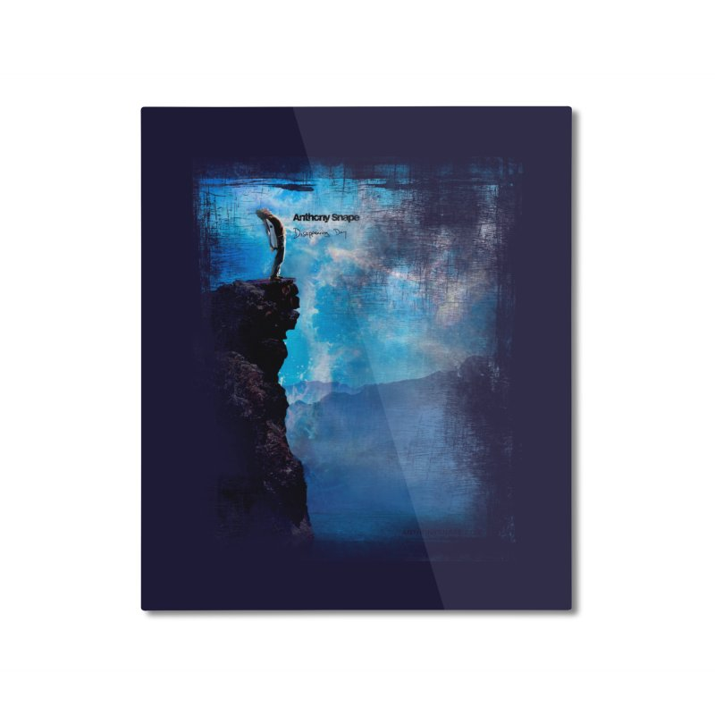 Disappearing Day - Song Inspired Art Home Mounted Aluminum Print by Home Store - Music Artist Anthony Snape