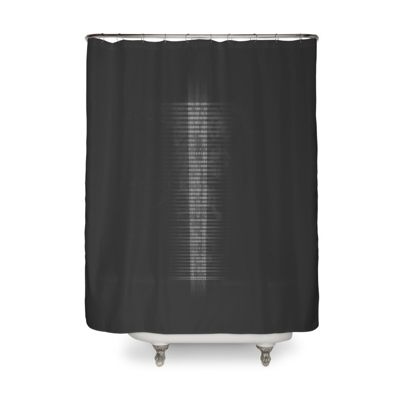 Solitude - Inspired Design Home Shower Curtain by Home Store - Music Artist Anthony Snape