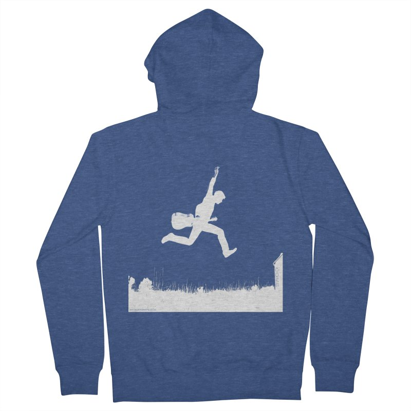 COME - Song Inspired Design Women's French Terry Zip-Up Hoody by Home Store - Music Artist Anthony Snape