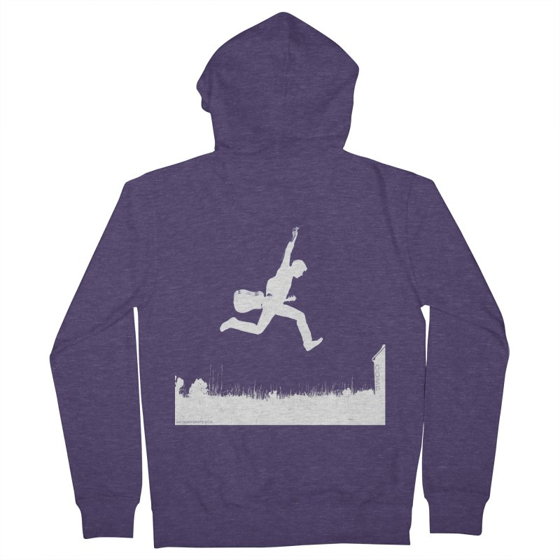 COME - Song Inspired Design Men's French Terry Zip-Up Hoody by Home Store - Music Artist Anthony Snape