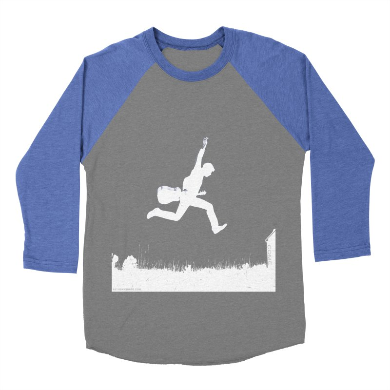 COME - Song Inspired Design Women's Baseball Triblend Longsleeve T-Shirt by Home Store - Music Artist Anthony Snape