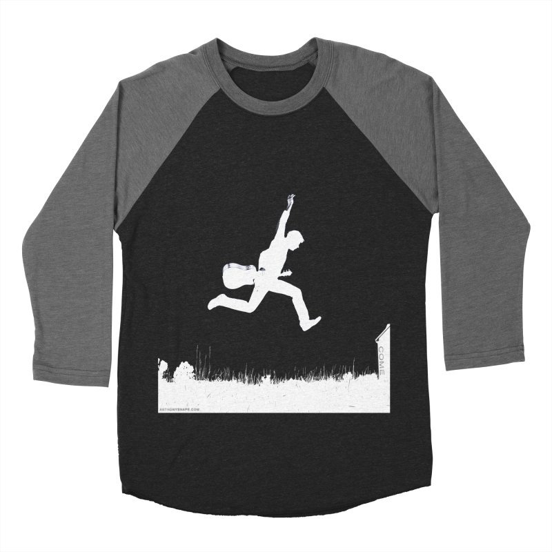 COME - Song Inspired Design Men's Baseball Triblend Longsleeve T-Shirt by Home Store - Music Artist Anthony Snape