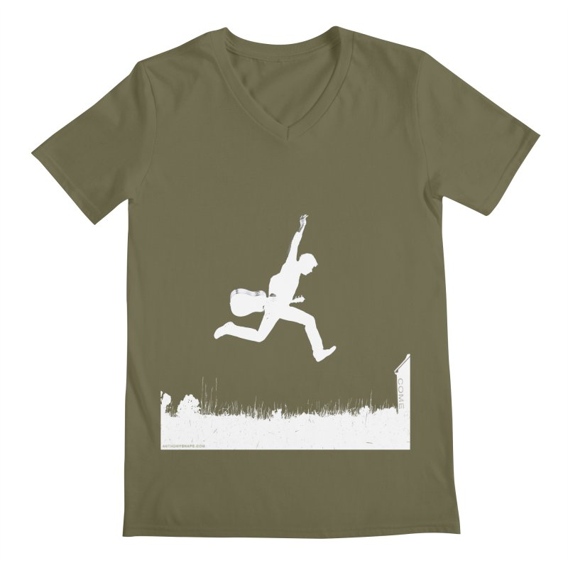 COME - Song Inspired Design Men's Regular V-Neck by Home Store - Music Artist Anthony Snape