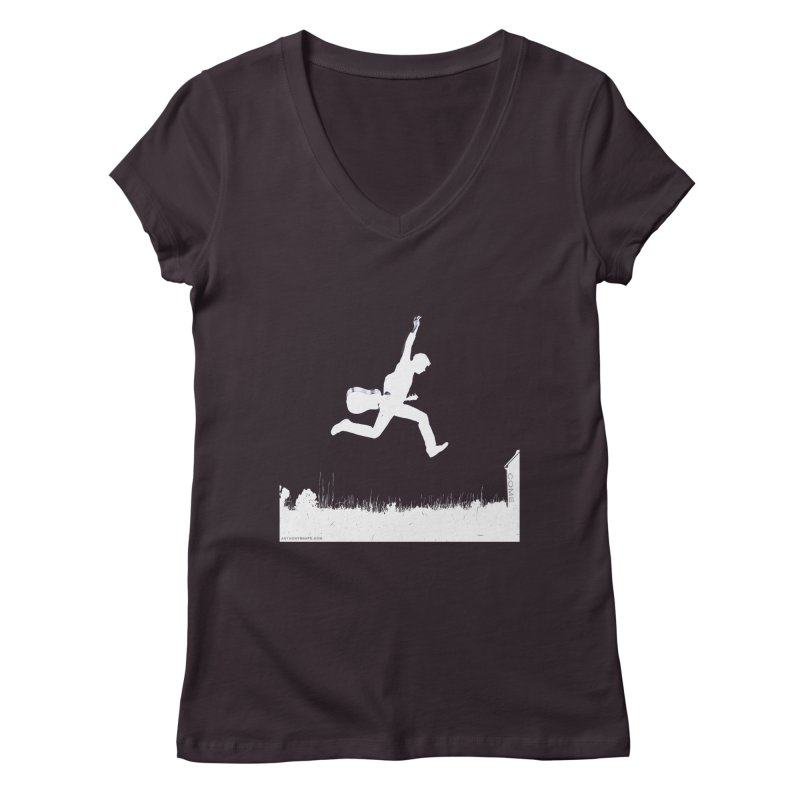 COME - Song Inspired Design Women's Regular V-Neck by Home Store - Music Artist Anthony Snape
