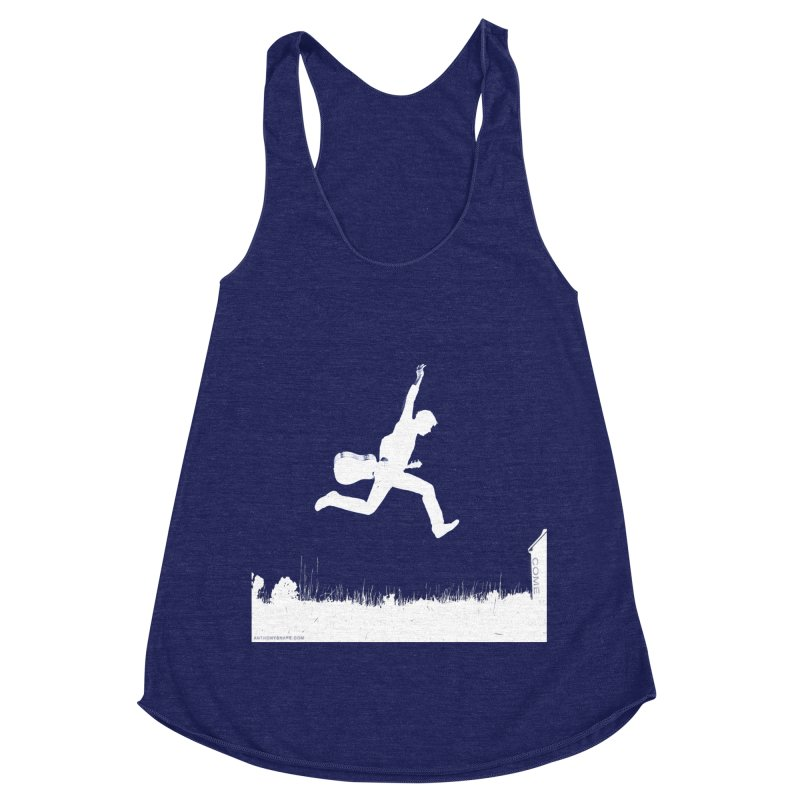 COME - Song Inspired Design Women's Racerback Triblend Tank by Home Store - Music Artist Anthony Snape