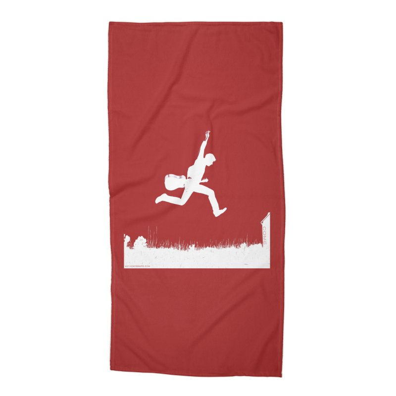 COME - Song Inspired Design Accessories Beach Towel by Home Store - Music Artist Anthony Snape