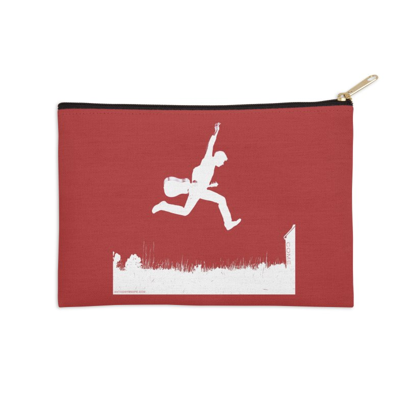 COME - Song Inspired Design Accessories Zip Pouch by Home Store - Music Artist Anthony Snape