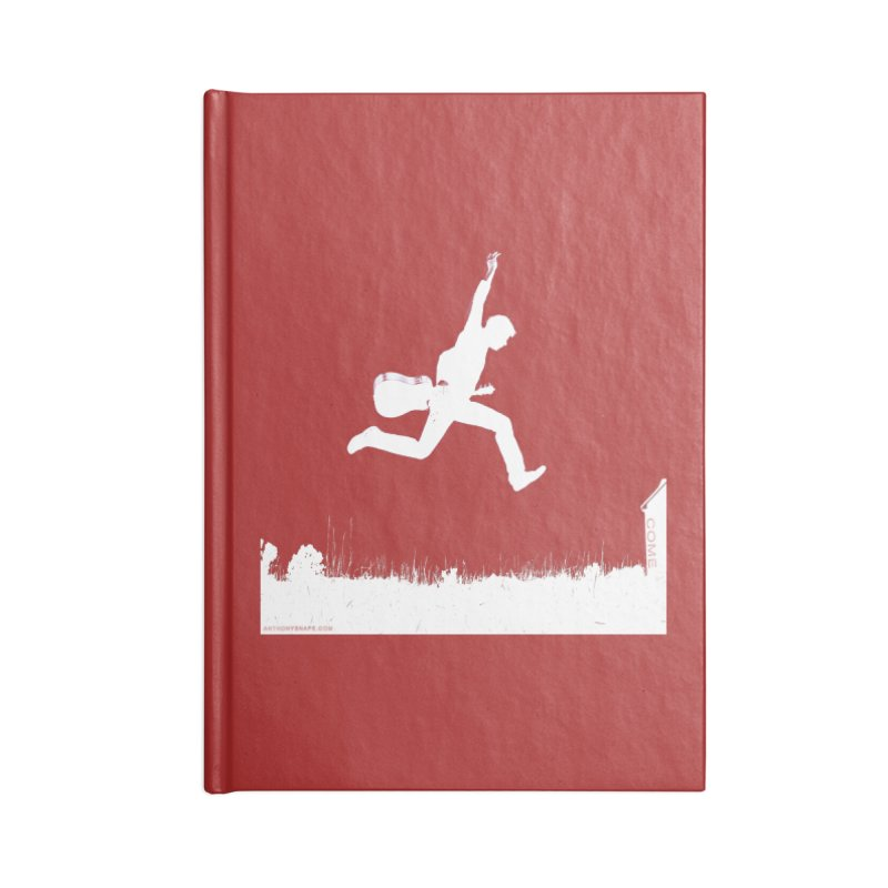 COME - Song Inspired Design Accessories Blank Journal Notebook by Home Store - Music Artist Anthony Snape