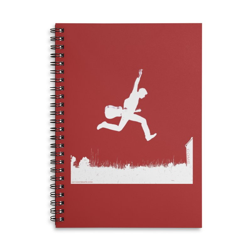 COME - Song Inspired Design Accessories Lined Spiral Notebook by Home Store - Music Artist Anthony Snape