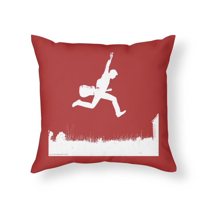 COME - Song Inspired Design Home Throw Pillow by Home Store - Music Artist Anthony Snape