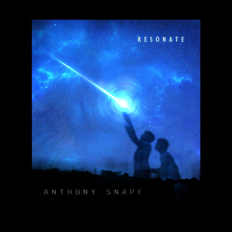 Resonate Album Artwork Design Accessories Notebook by Home Store - Music Artist Anthony Snape