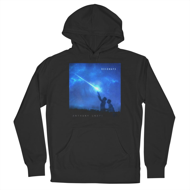 Resonate Album Artwork Design Women's French Terry Pullover Hoody by Home Store - Music Artist Anthony Snape