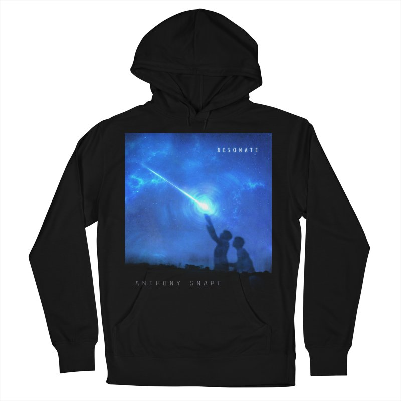 Resonate Album Artwork Design Men's French Terry Pullover Hoody by Home Store - Music Artist Anthony Snape