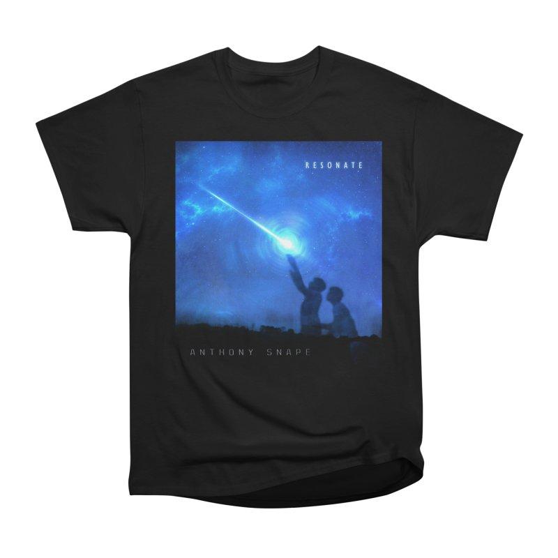 Resonate Album Artwork Design Women's Heavyweight Unisex T-Shirt by Home Store - Music Artist Anthony Snape