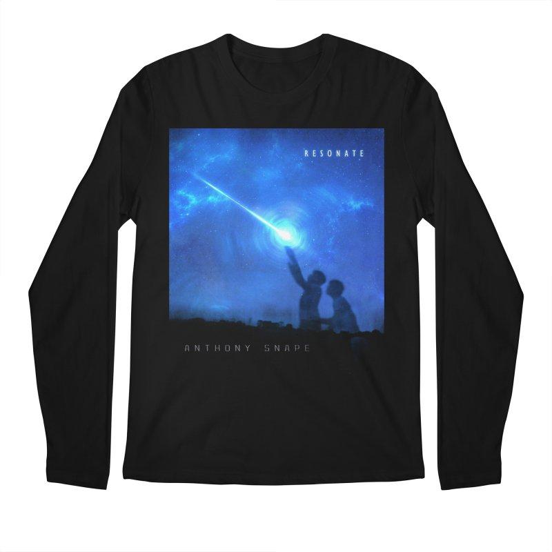 Resonate Album Artwork Design Men's Regular Longsleeve T-Shirt by Home Store - Music Artist Anthony Snape