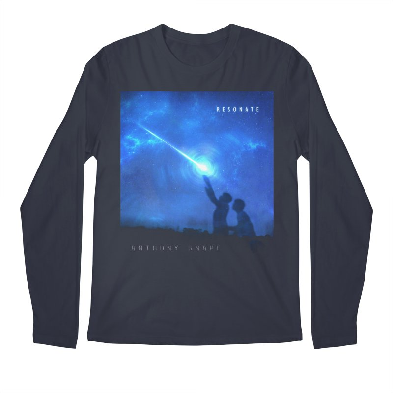 Resonate Album Artwork Design Men's Longsleeve T-Shirt by Home Store - Music Artist Anthony Snape