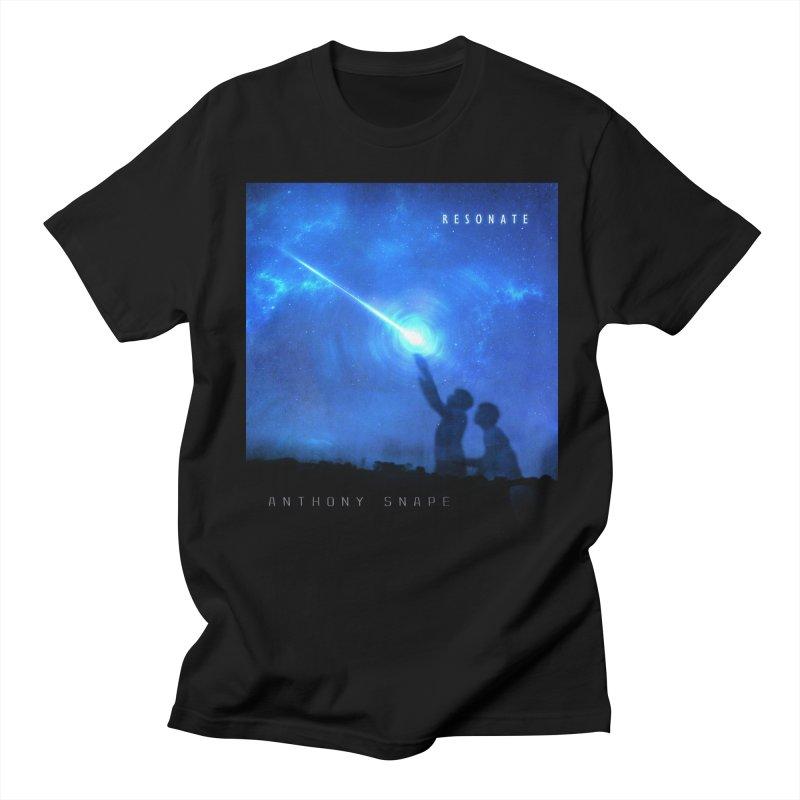Resonate Album Artwork Design Women's Regular Unisex T-Shirt by Home Store - Music Artist Anthony Snape