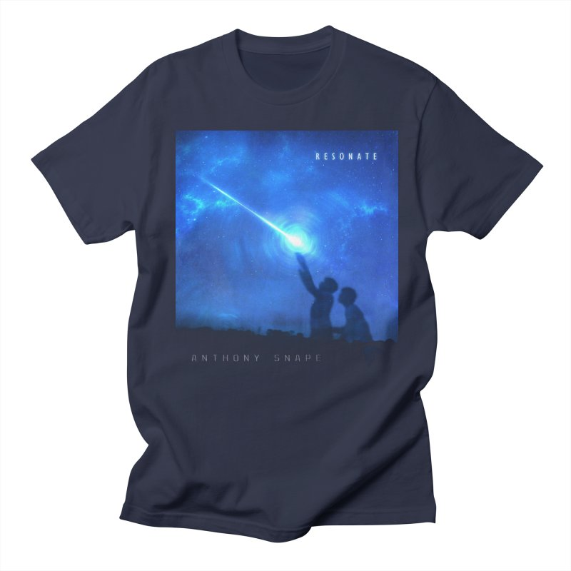 Resonate Album Artwork Design Men's Regular T-Shirt by Home Store - Music Artist Anthony Snape