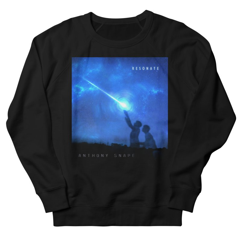 Resonate Album Artwork Design Women's French Terry Sweatshirt by Home Store - Music Artist Anthony Snape