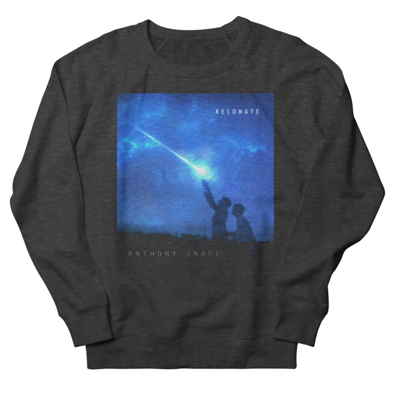 Resonate Album Artwork Design Men's French Terry Sweatshirt by Home Store - Music Artist Anthony Snape