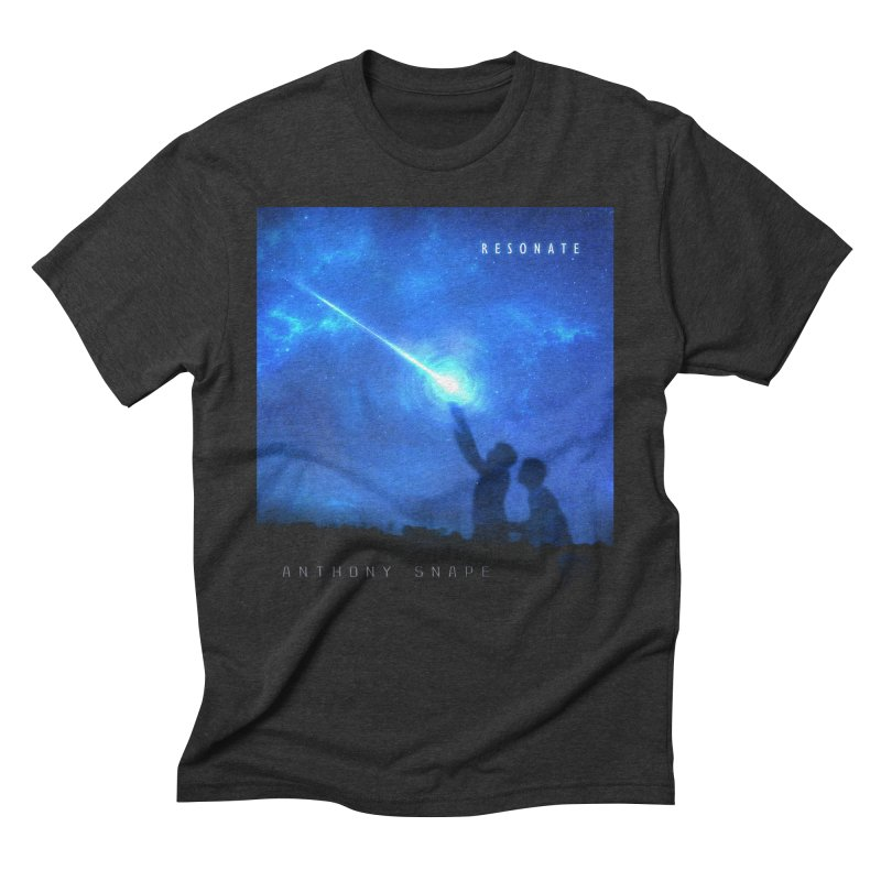 Resonate Album Artwork Design Men's Triblend T-Shirt by Home Store - Music Artist Anthony Snape