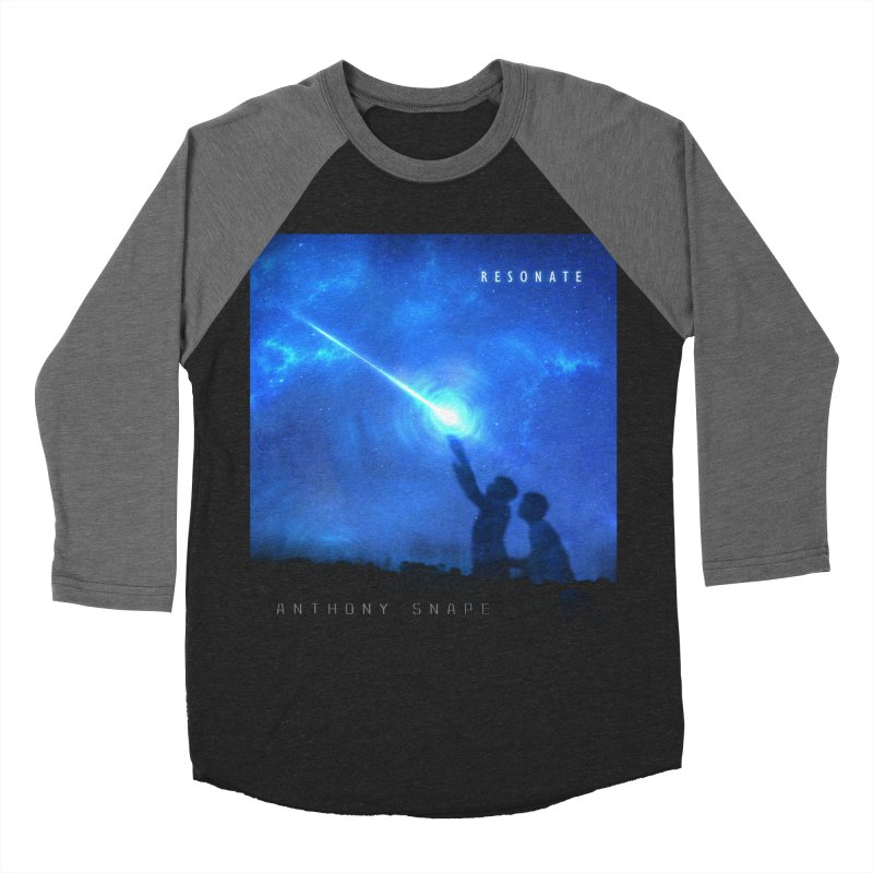 Resonate Album Artwork Design Women's Baseball Triblend Longsleeve T-Shirt by Home Store - Music Artist Anthony Snape