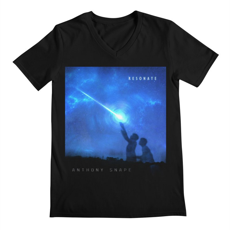 Resonate Album Artwork Design Men's Regular V-Neck by Home Store - Music Artist Anthony Snape