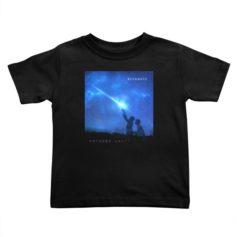 Resonate Album Artwork Design Kids Toddler T-Shirt by Home Store - Music Artist Anthony Snape