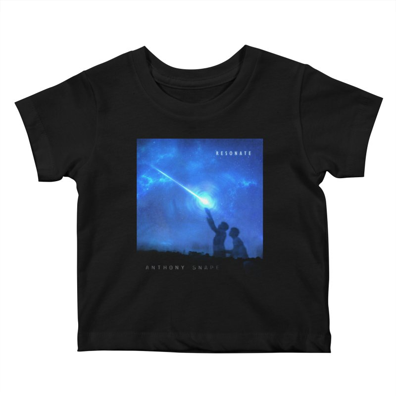 Resonate Album Artwork Design Kids Baby T-Shirt by Home Store - Music Artist Anthony Snape