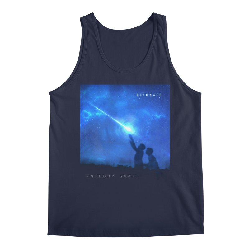 Resonate Album Artwork Design Men's Tank by Home Store - Music Artist Anthony Snape