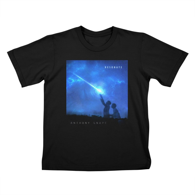 Resonate Album Artwork Design Kids T-Shirt by Home Store - Music Artist Anthony Snape