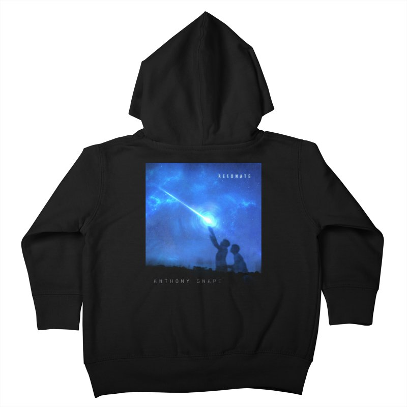 Resonate Album Artwork Design Kids Toddler Zip-Up Hoody by Home Store - Music Artist Anthony Snape