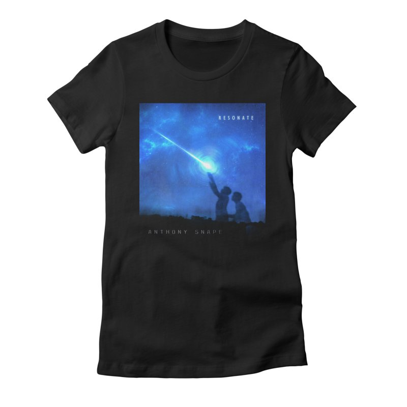 Resonate Album Artwork Design Women's Fitted T-Shirt by Home Store - Music Artist Anthony Snape