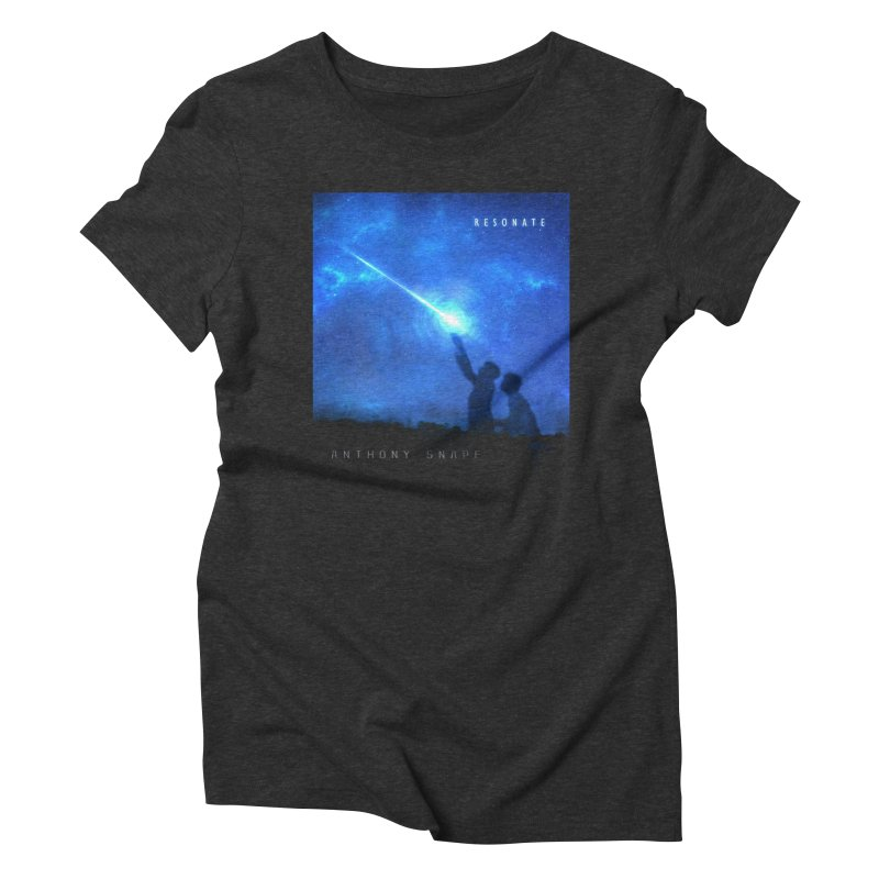 Resonate Album Artwork Design Women's Triblend T-Shirt by Home Store - Music Artist Anthony Snape