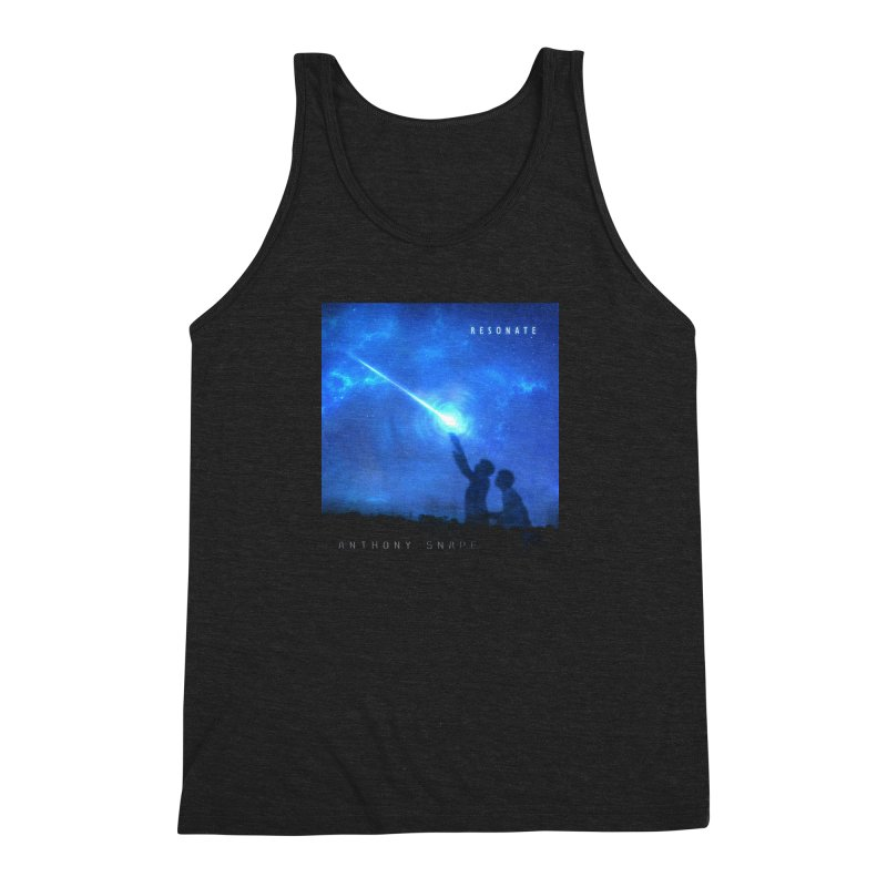 Resonate Album Artwork Design Men's Triblend Tank by Home Store - Music Artist Anthony Snape
