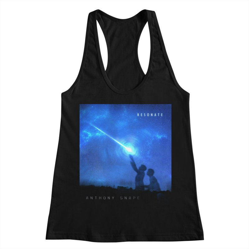 Resonate Album Artwork Design Women's Racerback Tank by Home Store - Music Artist Anthony Snape