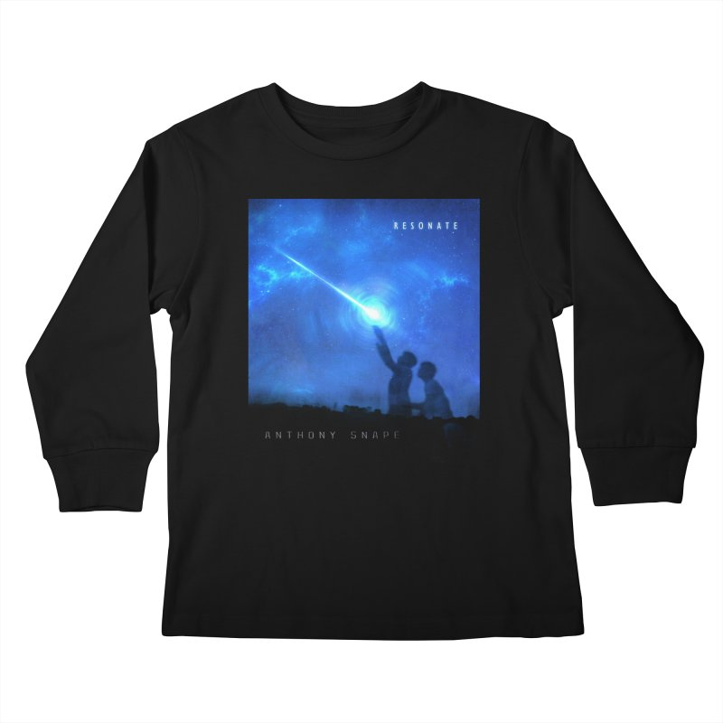 Resonate Album Artwork Design Kids Longsleeve T-Shirt by Home Store - Music Artist Anthony Snape