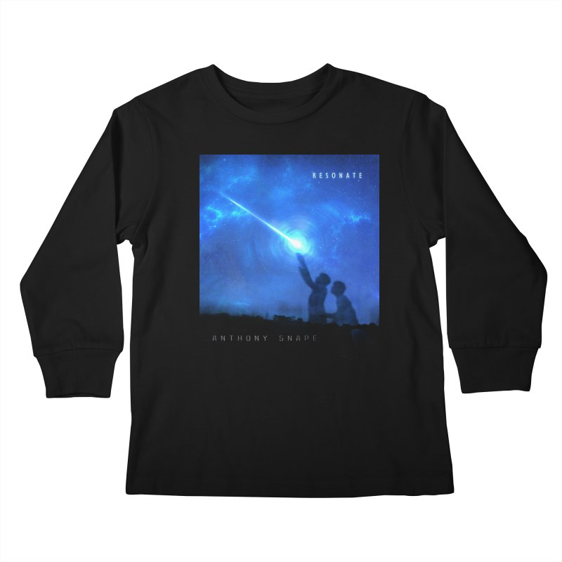 Resonate Album Artwork Design Kids Longsleeve T-Shirt by Home Store - Music Artist Anthony Snape