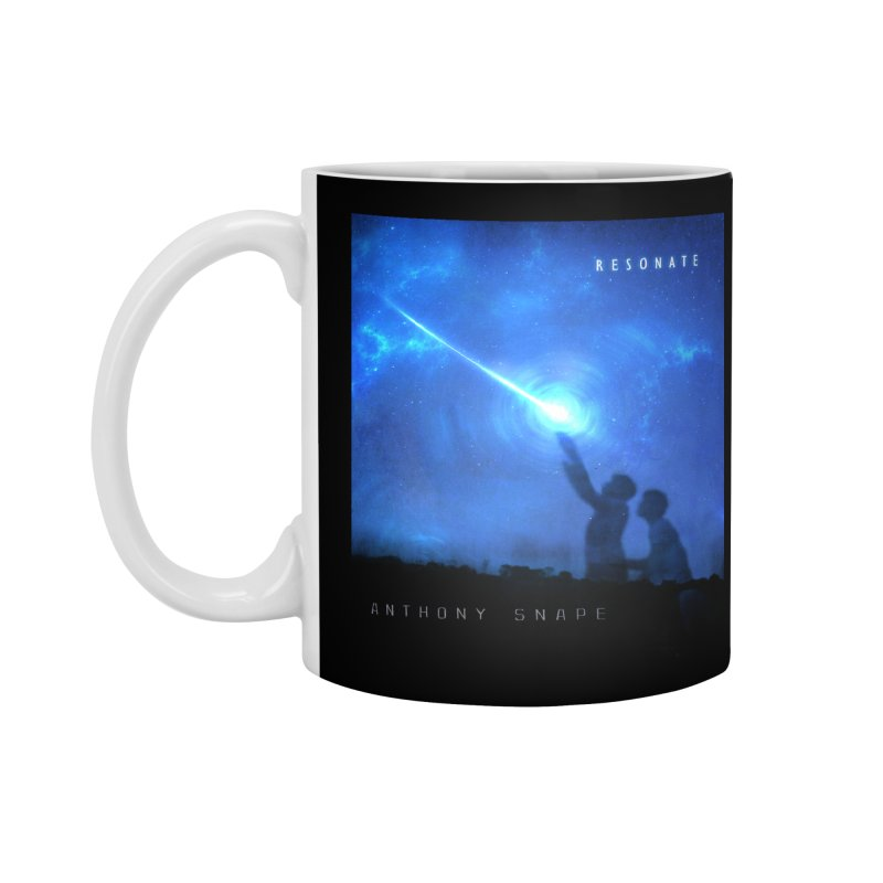 Resonate Album Artwork Design Accessories Standard Mug by Home Store - Music Artist Anthony Snape