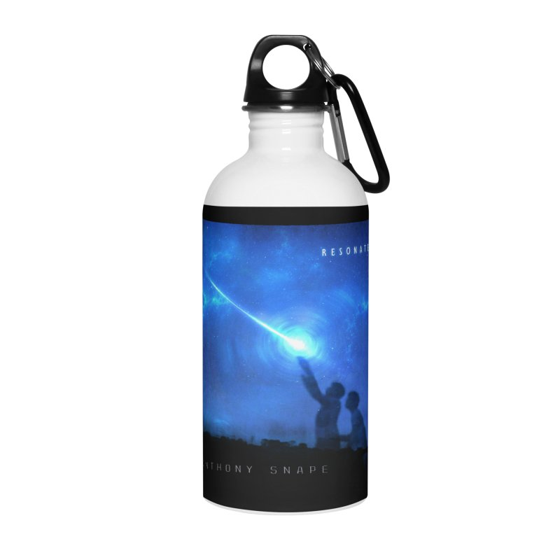 Resonate Album Artwork Design Accessories Water Bottle by Home Store - Music Artist Anthony Snape