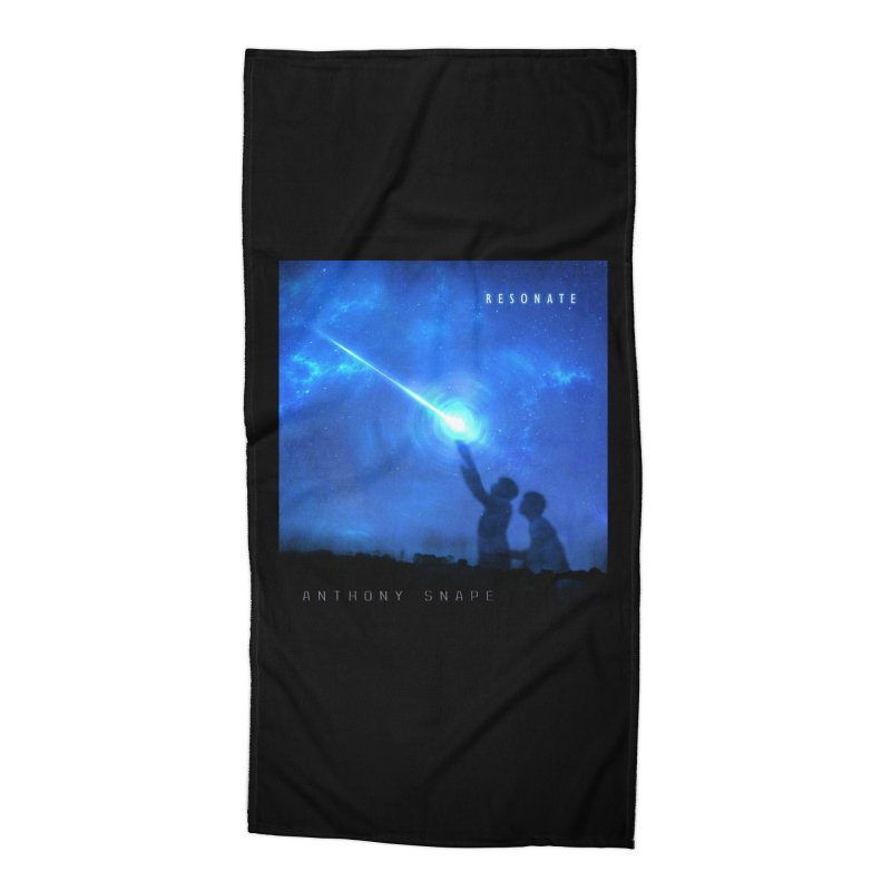 Resonate Album Artwork Design Accessories Beach Towel by Home Store - Music Artist Anthony Snape