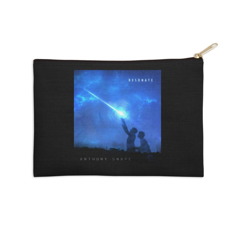 Resonate Album Artwork Design Accessories Zip Pouch by Home Store - Music Artist Anthony Snape